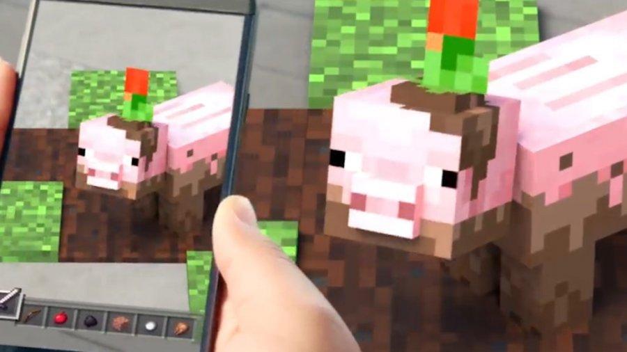 Microsoft намекает на возможный релиз игры Minecraft AR
