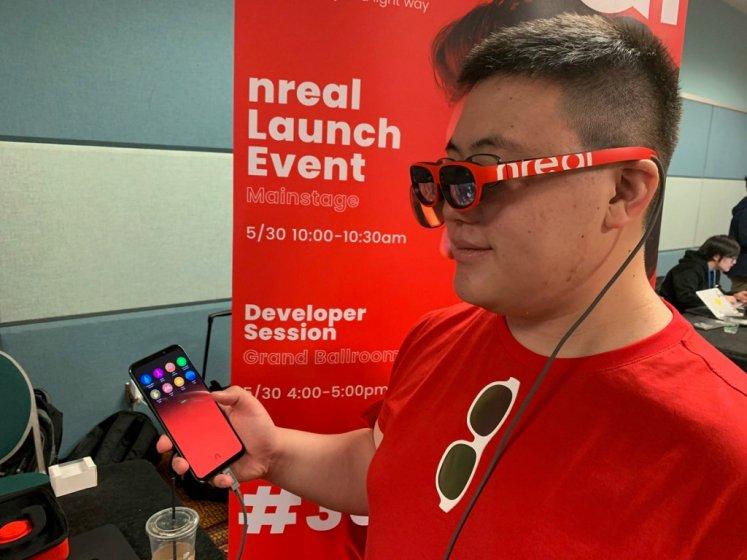 Потребительская AR гарнитура nReal Light выйдет уже в этом году