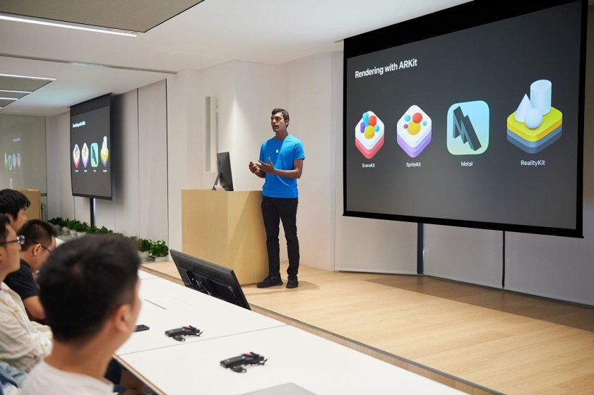 Apple открывает в Китае акселератор для AR разработчиков