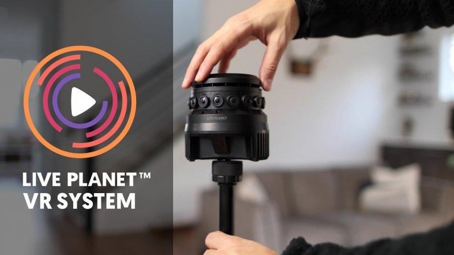 Live Planet запускает первую в мире VR сеть на основе блокчейн