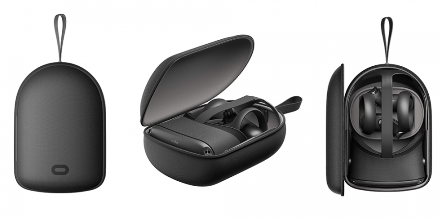 Facebook патентует чехол-кейс для Oculus Quest