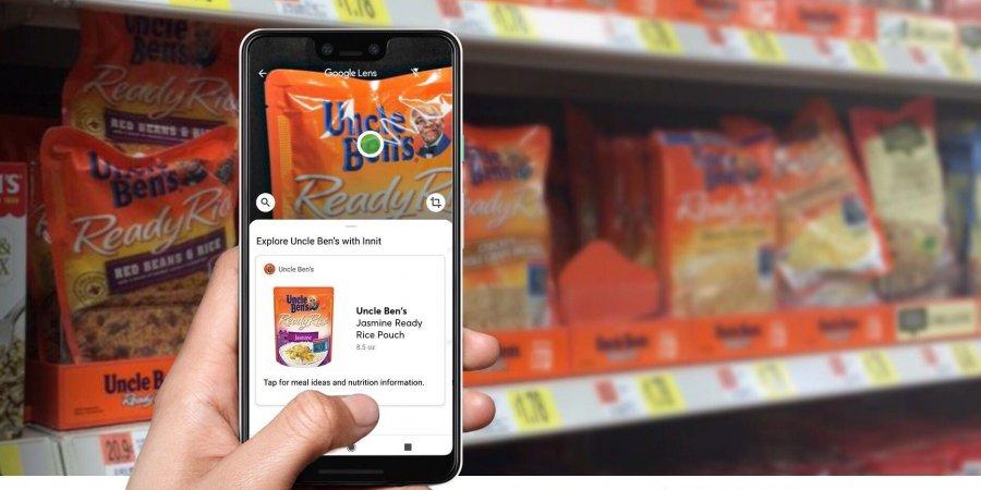 AR интеграция Google Lens в супермаркетах