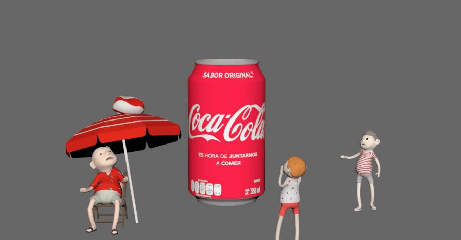Опыт использования AR компанией Coca-Cola