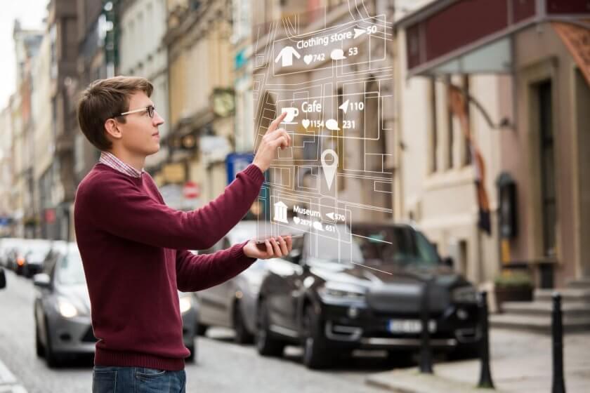 «Мы сделали AR-навигацию, которая доведет вас от метро до кабинета». Проект школьника на дополненной реальности