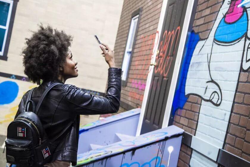 Готов ли мир для виртуальных граффити?