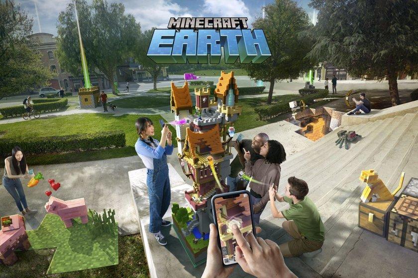 Minecraft Earth была скачана 1,2 миллиона раз за первую неделю в США