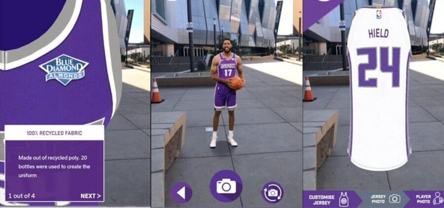 Использование AR в гольфе и баскетболе