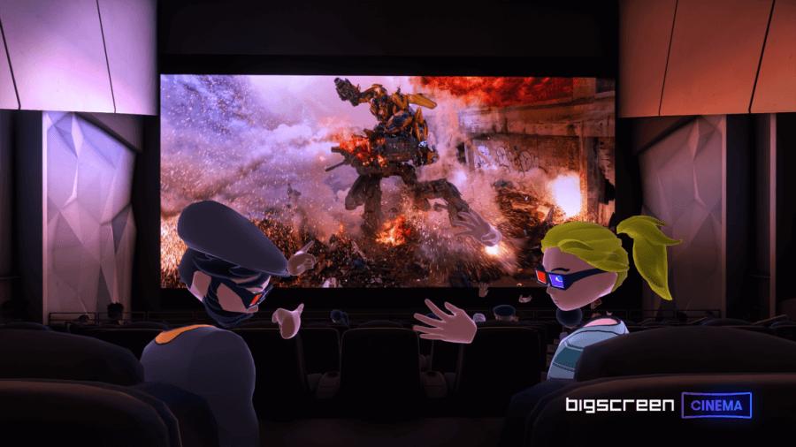 Успехи Bigscreen в показах VR-кино