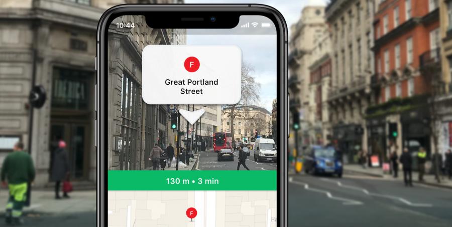 Приложение Moovit добавляет AR-функцию Way Finder для удобной навигации в городе