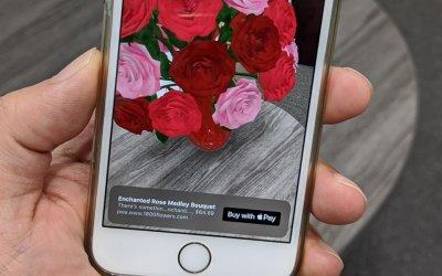 Apple помогает купить товар, визуализированный в AR