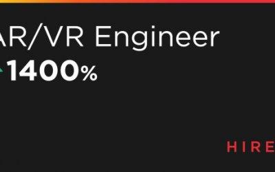 Спрос на AR/VR разработчиков вырос на 1400%