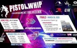 Турнир по VR-игре Pistol Whip с призовым фондом в 10 000$