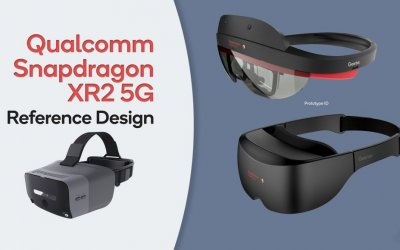 Qualcomm представляет новые эталонные дизайны для VR/AR-гарнитур на базе Snapdragon XR2