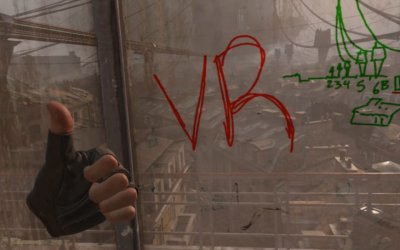 Первый обзор и опыт игры в Half-Life: Alyx