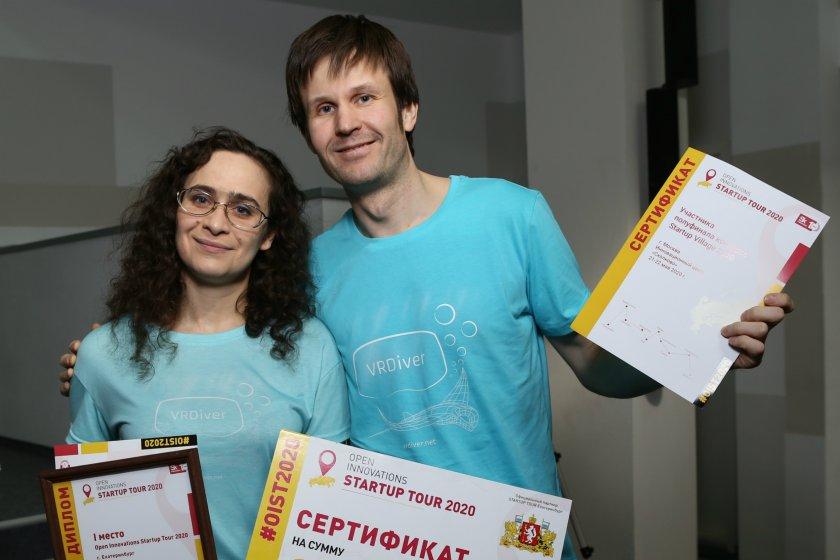 Система подводной виртуальной реальности победила в конкурсе Startup Tour в Екатеринбурге