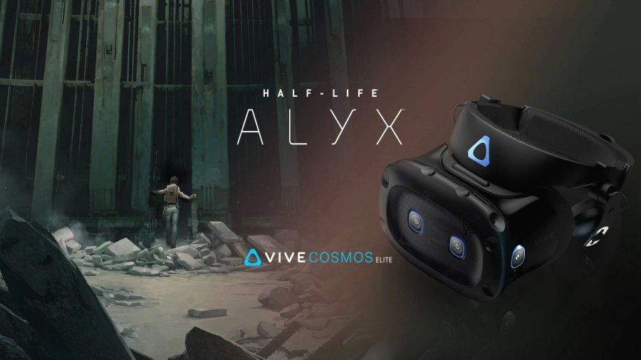 Half-Life: Alyx бесплатно при покупке HTC Vive Cosmos Elite