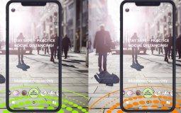 Новый фильтры Snapchat помогают людям соблюдать социальную дистанцию во время пандемии коронавируса