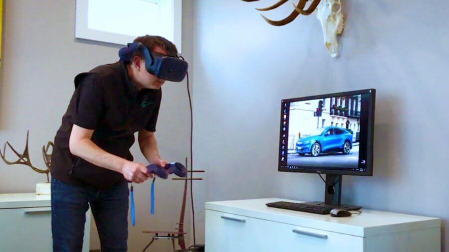 Дизайнеры и инженеры Ford во время карантина используют VR для проверки автомобилей