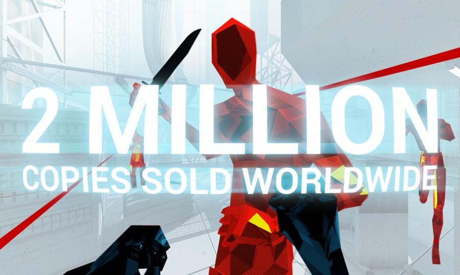 Superhot VR, популярная VR-игра, стала платиновой дважды. Она была продана более двух миллионов раз для всех платформ виртуальной реальности.