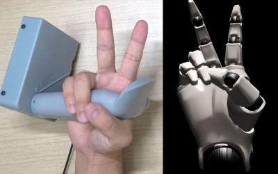 Sony показала прототип контроллера с отслеживанием пальцев рук