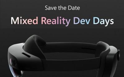 Mixed Reality Dev Days состоится онлайн 21-22 мая бесплатно для всех желающих на площадке AltSpace