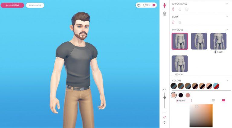 Два сервиса для создания собственных аватаров в VRChat и Mozilla Hubs