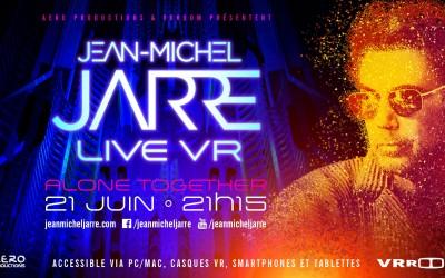 Жан-Мишель Жарр сыграет свой новый концерт полностью в виртуальной реальности