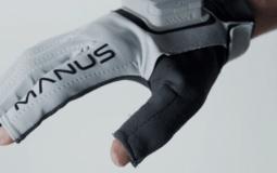 Последняя серия перчаток Manus 'Prime II' предлагает отслеживание пальцев с 11 степенями свободы (11 DoF)