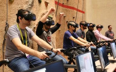 Виртуальная реальность делает физические упражнения более приятными и менее утомительными