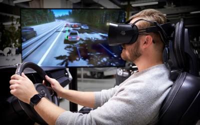 Volvo представила VR-симулятор вождения, разработанный вместе с Unity, Varjo и Teslasuit