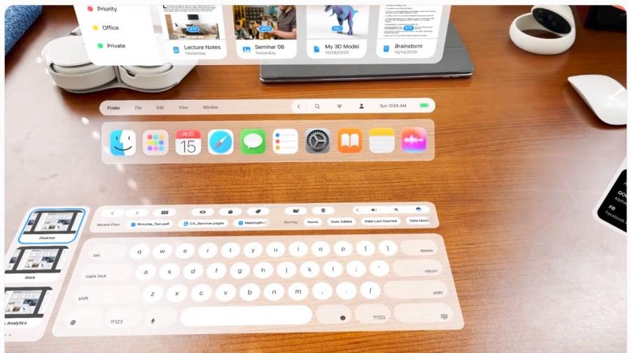 Концепт AR-очков Apple