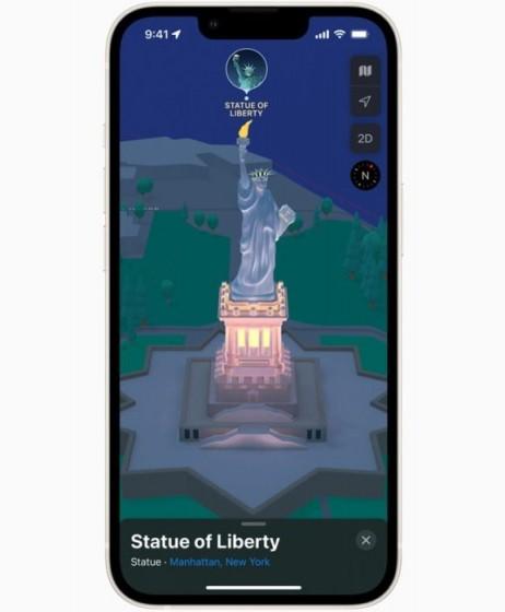 Крупное обновление AR-навигации в Apple Maps