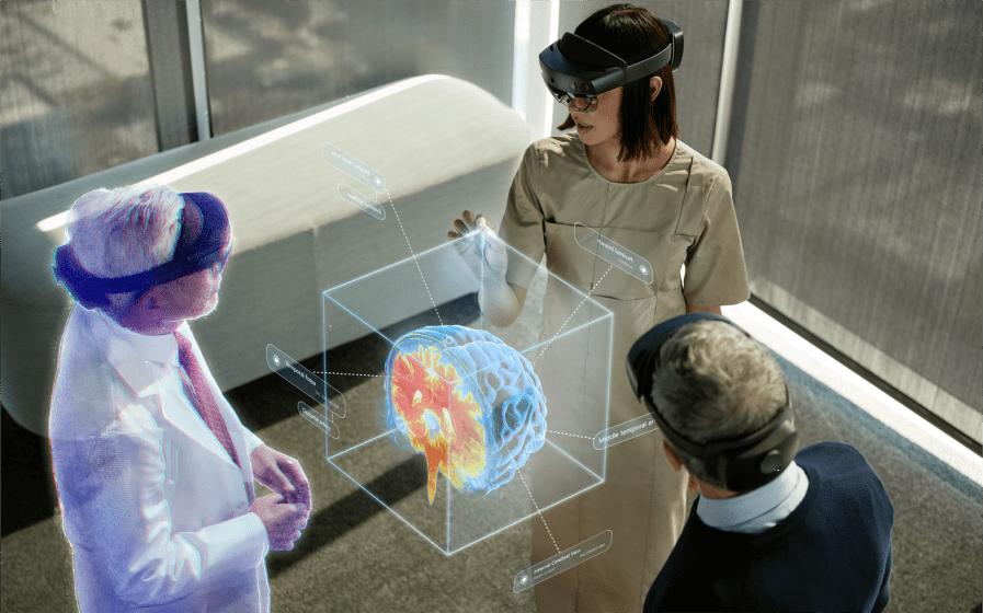 Большое обновление платформы для работы в смешанной реальности Microsoft Mesh