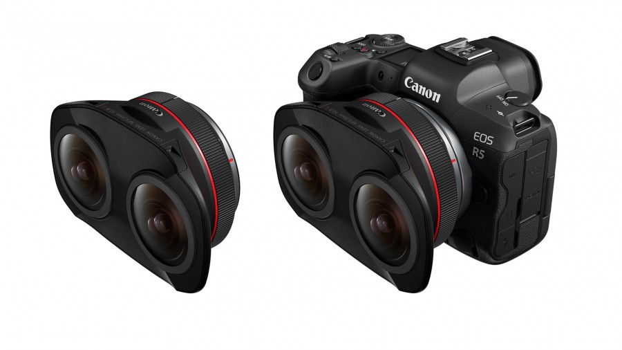 Canon представляет стереоскопический объектив для создания VR-контента