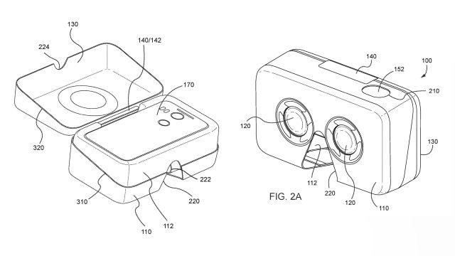 Компания Google выпустила патент для создания мобильной VR