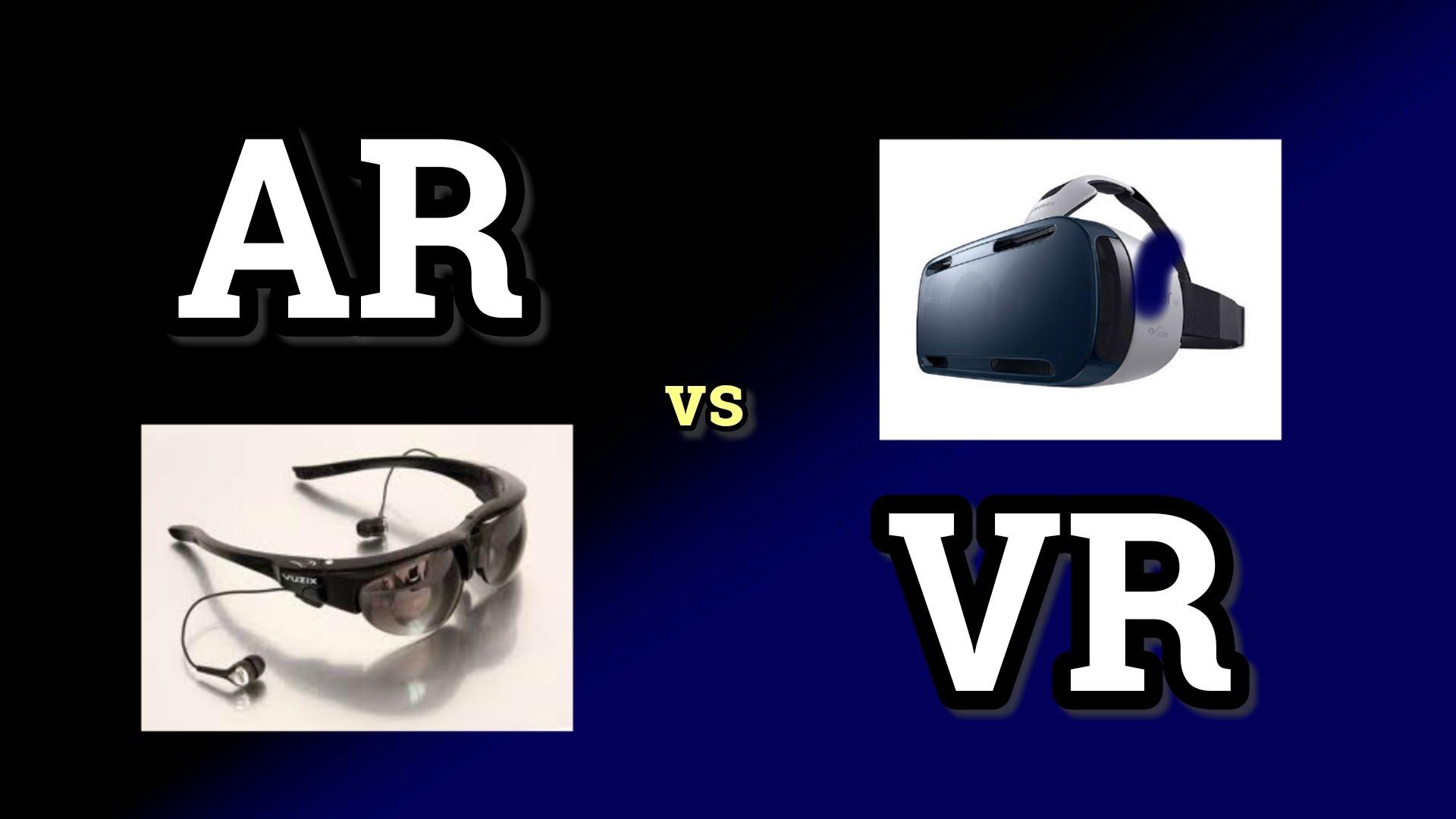 Сравнение виртуальной и дополненной реальности