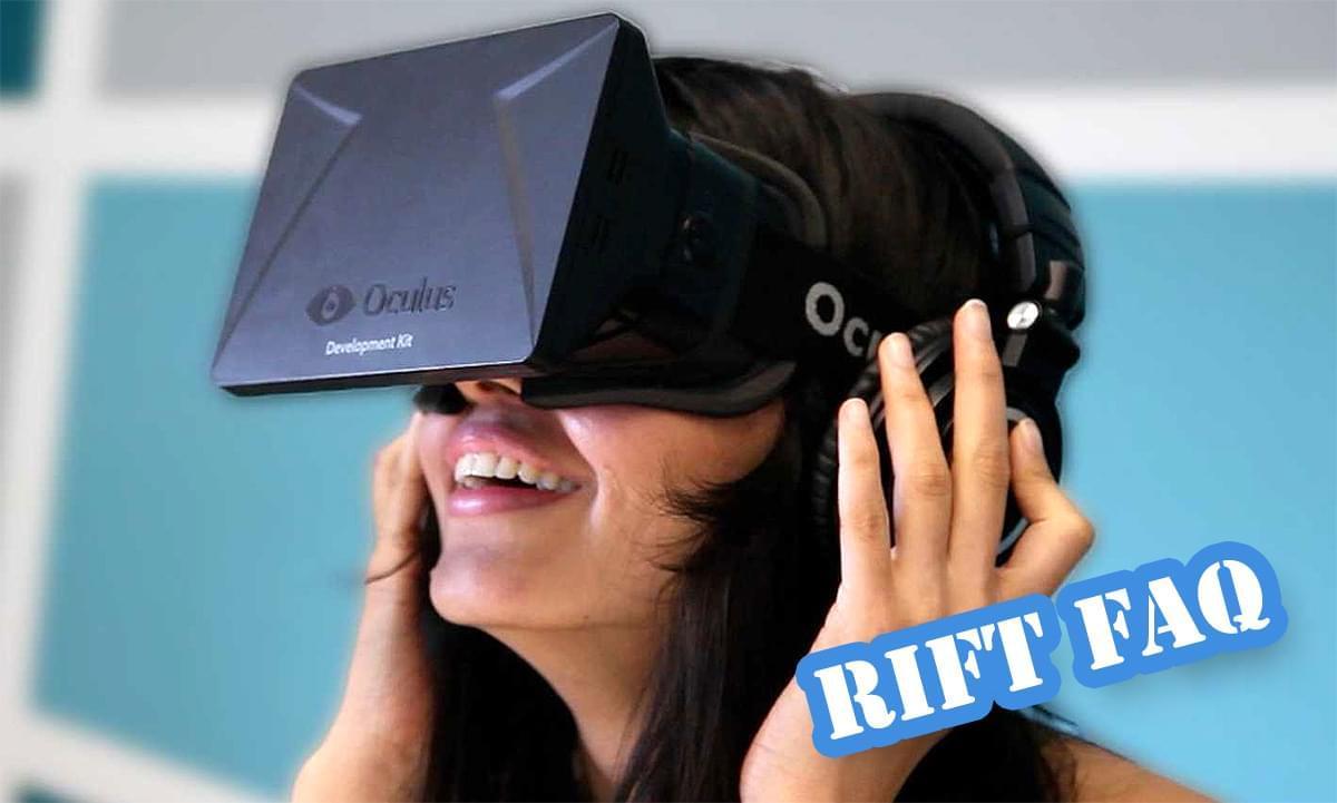 Часто задаваемые вопросы по использованию Oculus rift