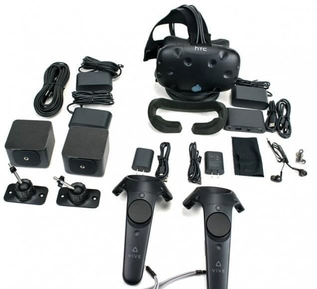Подключение и настройка HTC Vive