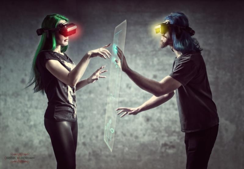 Любовные истории виртуальной реальности