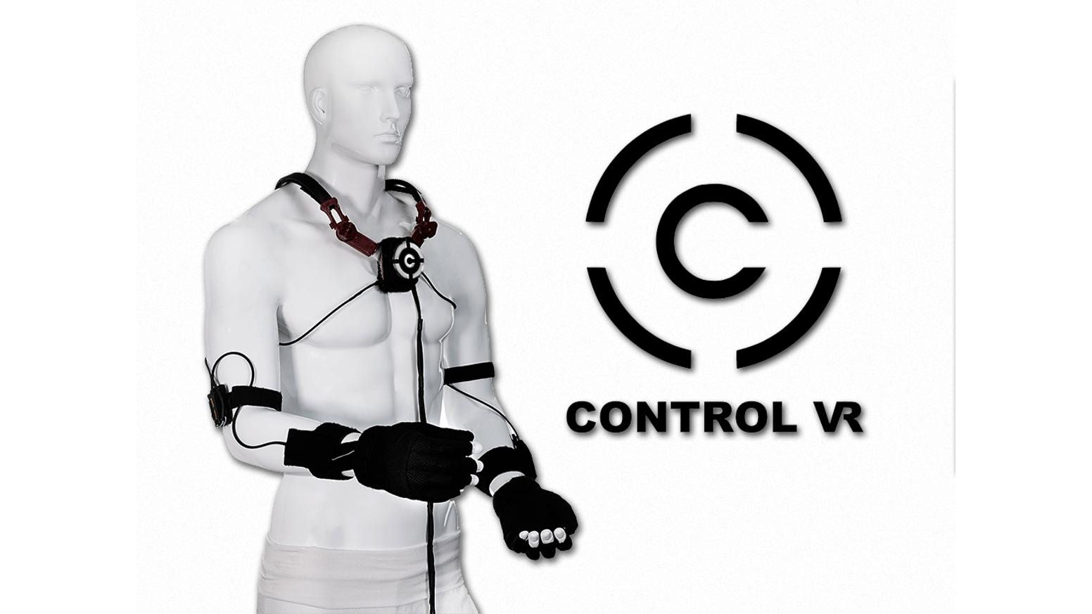 перчатки Control VR