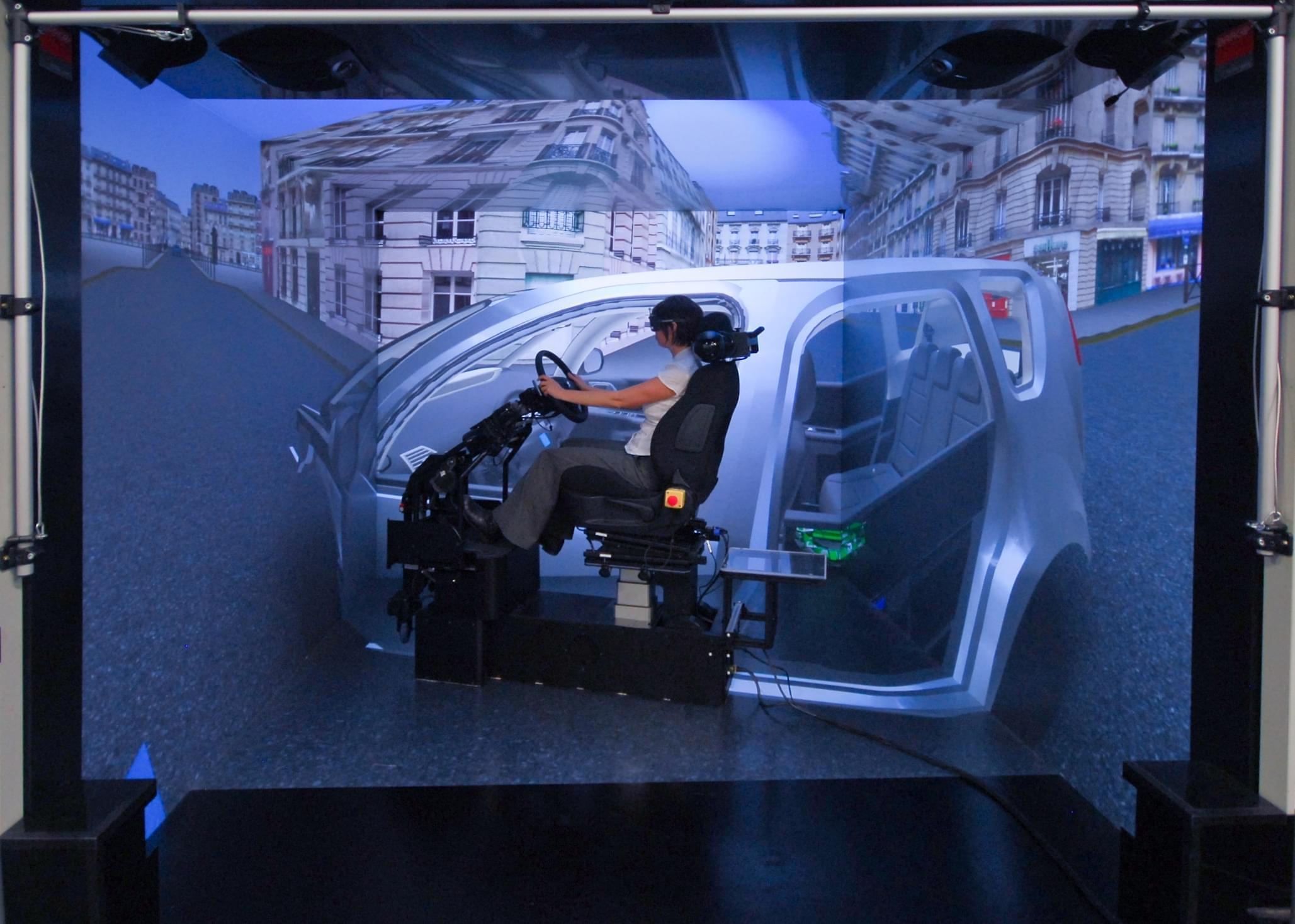 Использование VR cave