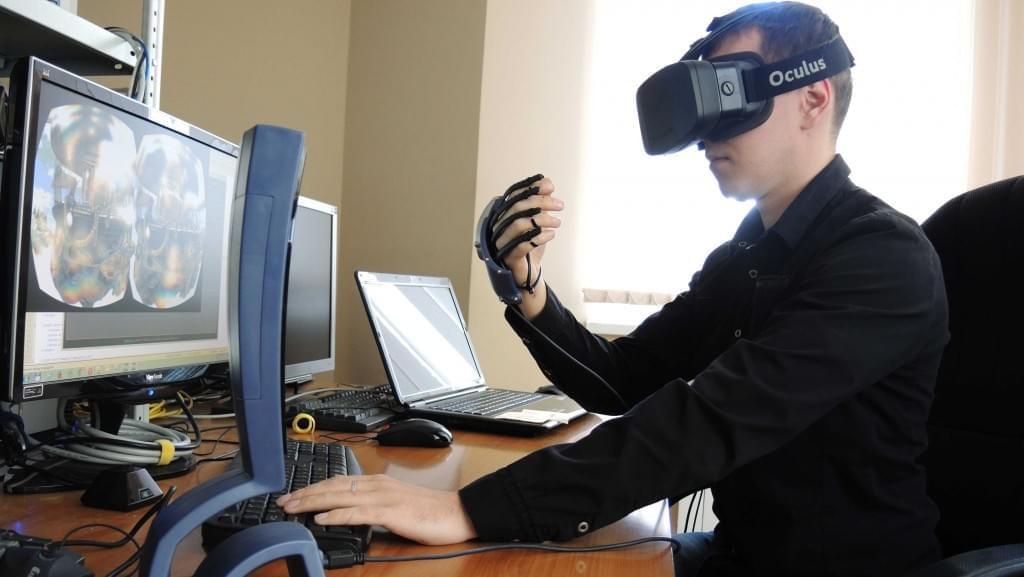 Перчатки виртуальной реальности