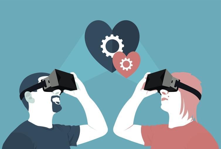 Любовь в VR