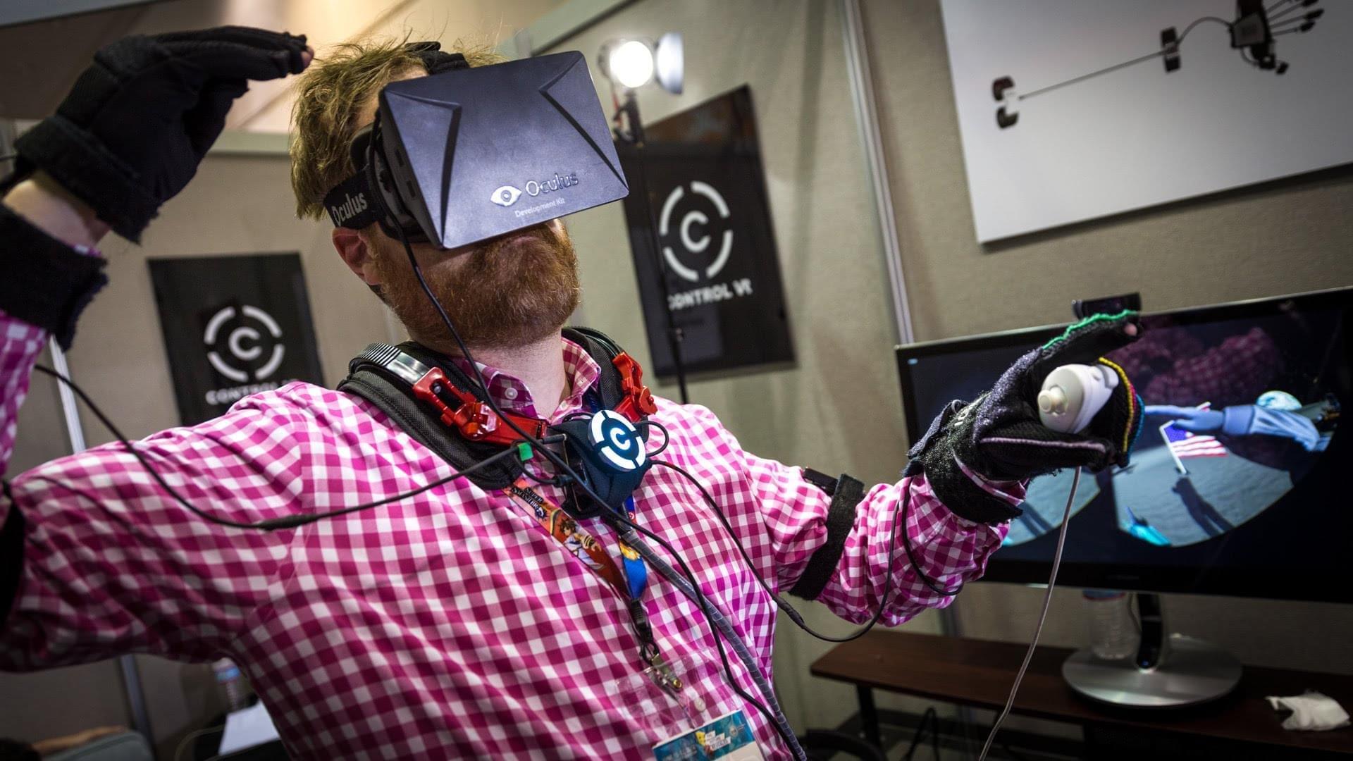 Control VR перчатки для виртуальной реальности