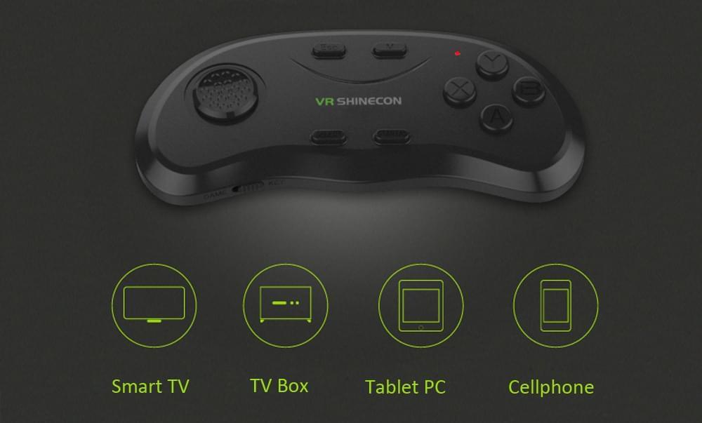Настройка джойстика VR Shinecon