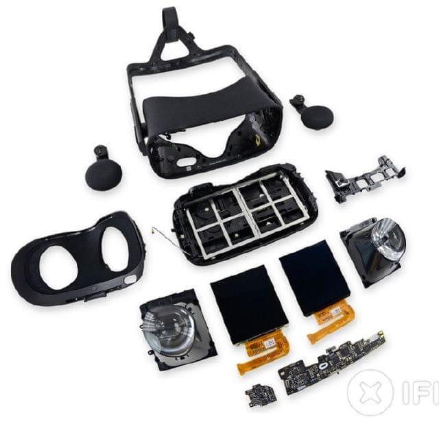 конструкция шлема виртуальной реальности