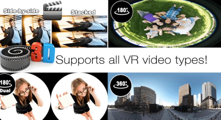 AAA VR Cinema Cardboard 3D