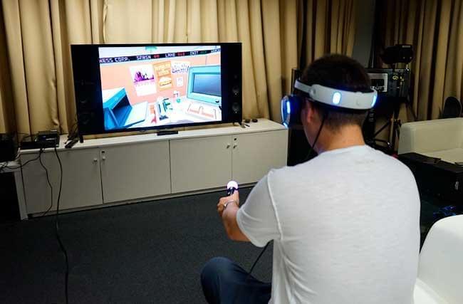 Принцип работы шлема виртуальной реальности