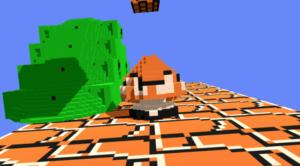 Играем в в Super Mario VR с 3DNES