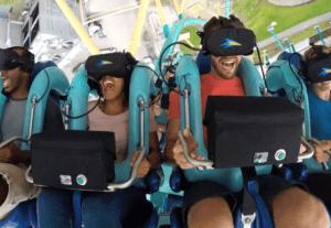 VR аттракцион Кракен в Орландо пользуется популярностью